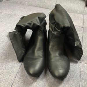Charlotte Russe Black Boots!